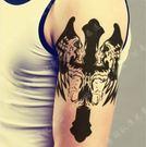 花臂紋身貼紙  大號  翅膀十字架  日韓系水轉印紋身貼紙 想購了超級小物
