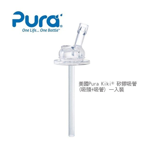 GMP BABY 美國Pura 2入矽膠吸管(6個月以上)