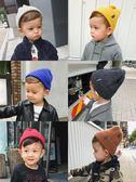 辰辰媽嬰童裝秋冬裝1-2-3歲兒童毛線帽百搭男童寶寶針織套頭帽子 萬聖節服飾九折