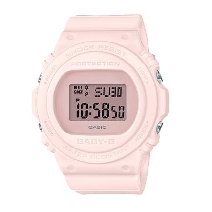 Baby-G 經典暢銷 復古與時尚風格 運動計時女錶 防水手錶 BGD-570-4 CASIO卡西歐