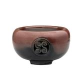 台灣手工製陶瓷黑晶面板遠紅外線電熱爐【團圓】電陶爐 手拉胚搭配鑄鐵茶壺