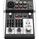 【敦煌樂器】BEHRINGER X302USB 混音器/音色更清澈透明