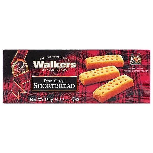 英國 Walkers 蘇格蘭皇家奶油餅乾(150g)盒裝【小三美日】