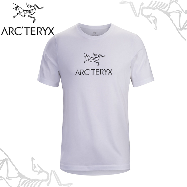 【ARC TERYX 始祖鳥 男 Arc word T-shirt 休閒Tee《白》】24013/短袖T恤/運動衫/透氣