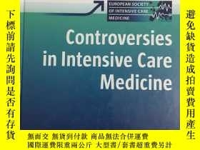 二手書博民逛書店Controversies罕見in Intensive Care