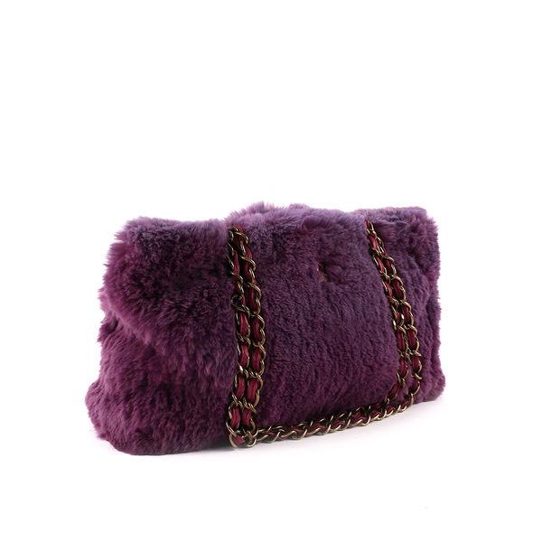 【CHANEL】紫色毛毛包 CH11000004