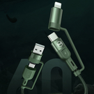 Mcdodo 四合一 PD/Lightning/Type-C/iPhone充電線閃充線傳輸線快充線 超強系列 120cm 麥多多