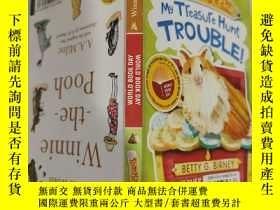 二手書博民逛書店my罕見treasure hunt trouble 我尋寶的麻煩..Y200392