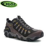 丹大戶外【Oboz】美國 Sawtooth Low 男款 戶外低筒登山鞋 OB20601 黑影色
