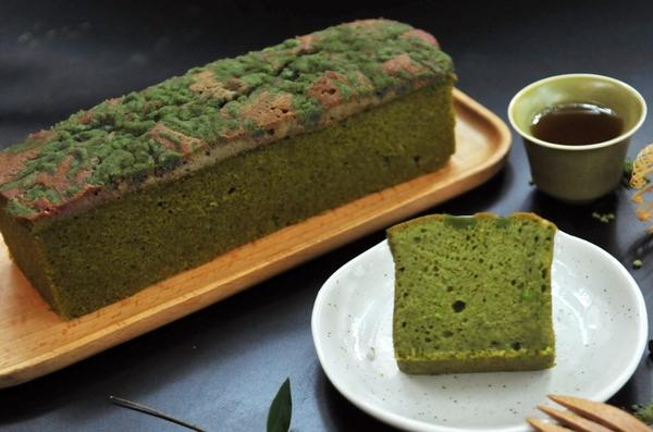 【期間限定】嚴選靜岡抹茶 抹茶奶酥 經典常溫蛋糕 濃抹茶磅蛋糕(約370g)