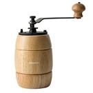 金時代書香咖啡 AKIRA 正晃行 手搖磨豆機-鑄鐵刀 復古造型 淺木色 A-16N