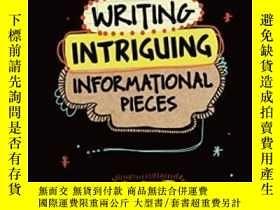 二手書博民逛書店Writing罕見Intriguing Informational Pieces-寫一些有趣的信息Y43663