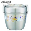 日本限定 宮崎駿 龍貓 森林果實版 超輕量 不鏽鋼真空保溫餐罐 / 便當盒 / 餐盒  570ml