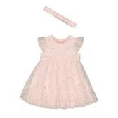 mothercare 粉星星蓬蓬洋裝-特別精選(M0SF068)03~06個月、18~24個月