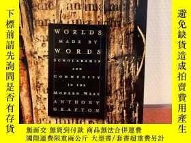 二手書博民逛書店Worlds罕見Made by Words: Scholarsh