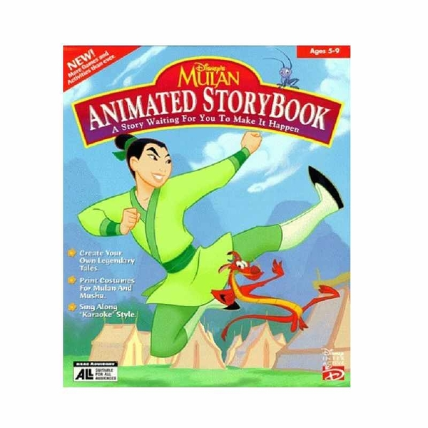 花木蘭 Mulan Animated Storybook - PC/Mac by Disney Interactive Studios [2美國直購]