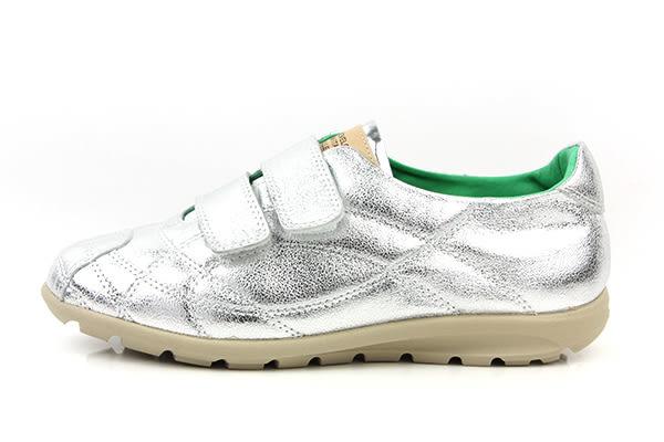 HUMAN PEACE 休閒鞋 銀色 女鞋 no397