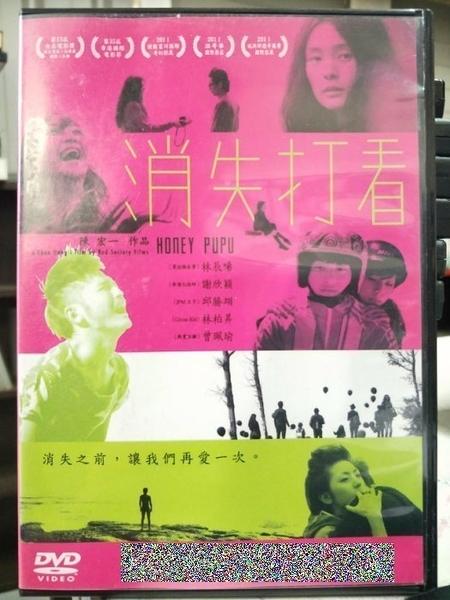 挖寶二手片-L03-029-正版DVD-華語【消失打看/Honey Pupu】-花吃了那女孩導演 邱勝翊 林柏昇(直購價