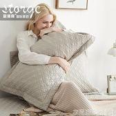 抗菌防螨純棉枕套一對裝夾棉雙人枕頭套全棉單人情侶枕芯套內膽套 衣間迷你屋LX