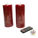 佛光普照LED燭燈 電池式附遙控器 1對【十方佛教文物】