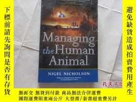 二手書博民逛書店MANAGING罕見THE HUMAN ANIMAL【722】Y