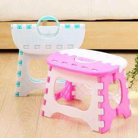 便攜式折疊椅 兒童成人手提椅 塑膠小板凳凳子 戶外露營野餐 釣魚椅烤肉椅摺疊椅【4G手機】