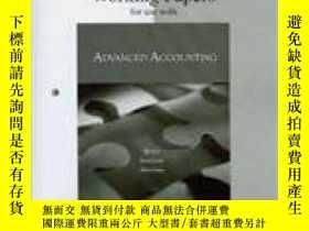 二手書博民逛書店Study罕見Guide & Working Papers To Accompany Advanced Accou
