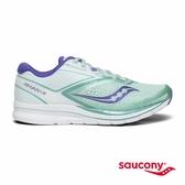 SAUCONY KINVARA 9 專業訓練女鞋-湖水綠x白