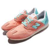【四折特賣】New Balance 復古慢跑鞋 CCPF D 粉紅 綠 麂皮 粉色系 運動鞋 女鞋【PUMP306】 CCPFD