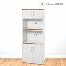 【米朵Miduo】2.2尺塑鋼電器櫃 防水塑鋼家具 塑鋼櫥櫃(附插座)