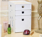桌面有蓋防塵護膚品置物架DL5515『M&G大尺碼』