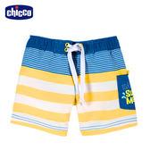 chicco-海洋假期--女童背心套裝-條紋小魚