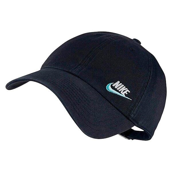NIKE H86 CAP 帽子 老帽 休閒 刺繡LOGO 黑藍【運動世界】AO8662-017