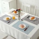 日式ins西餐墊 隔熱墊防滑碗墊PVC防水餐墊家用耐高溫餐桌墊    米希美衣