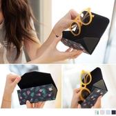 《ZB0644》花樣造型圖案摺疊眼鏡盒 OrangeBear