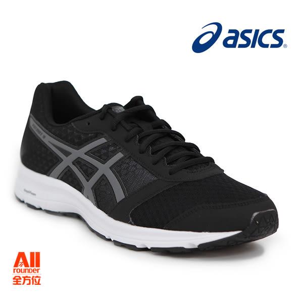 【asics亞瑟士】男款慢跑鞋 PATRIOT 9 -黑色(T823N9097)全方位跑步概念館
