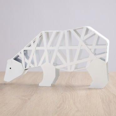 愛蘭爾北極熊擺飾 大