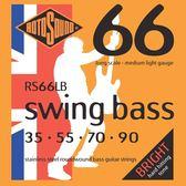 小叮噹的店 英國ROTOSOUND RS66LB (35-90) 電貝斯弦 不銹鋼 旋弦公司貨