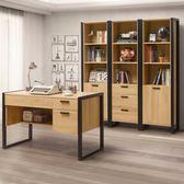 書櫃《YoStyle》貝森書房四件組  書桌 辦公桌 工作桌 置物架 收納架 展示櫃 工業風 專人配送