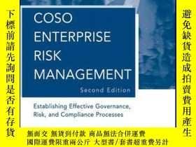 二手書博民逛書店COSO罕見Enterprise Risk Management: Establishing Effective