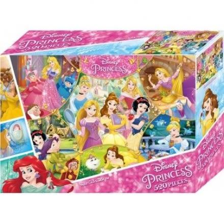 迪士尼公主 520片盒裝拼圖(C) -根華 (購潮8)
