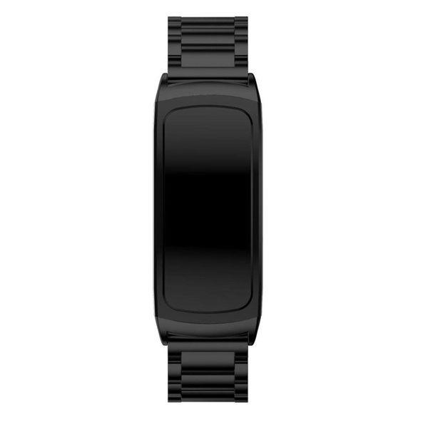 三星 Gear Fit2 Pro 錶帶 三珠鋼帶 不銹鋼 手腕帶 金屬錶帶 智慧手錶 手環 錶帶 替換錶帶 手錶帶