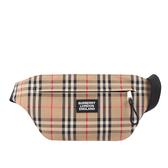 【BURBERRY】中型Vintage 格紋 Brummell 腰包(典藏米色) 8027159