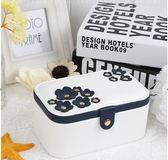 櫻花首飾盒首飾收納盒簡約飾品盒戒指盒耳環收納盒公主化妝 跨年鉅惠85折
