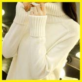 高領毛衣女秋裝新款2019韓版寬鬆套頭學生長袖針織打底衫秋冬百搭