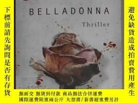 二手書博民逛書店德語原版罕見Belladonna: Thriller von K