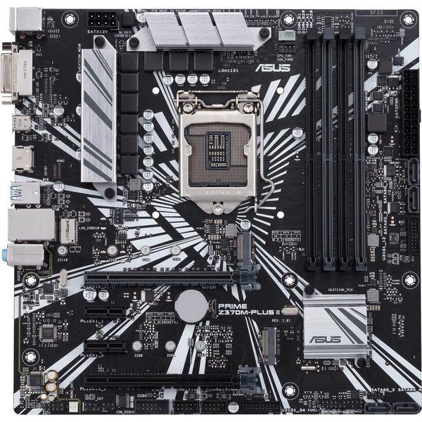 【免運費】ASUS 華碩 PRIME Z370M-PLUS II 主機板 / 限LGA1151 八代專用 / DDR4