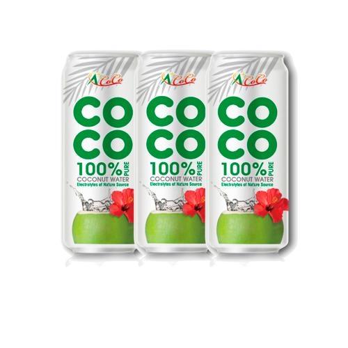 椰活100%純椰子水500mlx3【愛買】