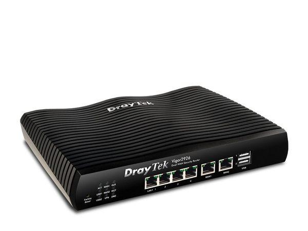 居易科技 Vigor2926 SSL VPN寬頻路由器 雙WAN口安全防護
