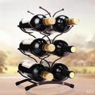 紅酒架 創意歐式紅酒架擺件現代簡約簡易葡萄酒瓶架子酒柜裝飾品擺件 印象家品